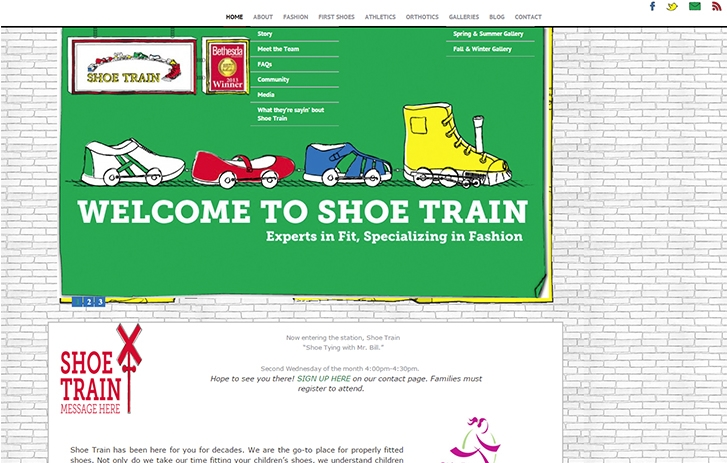Shoe Train screenshot