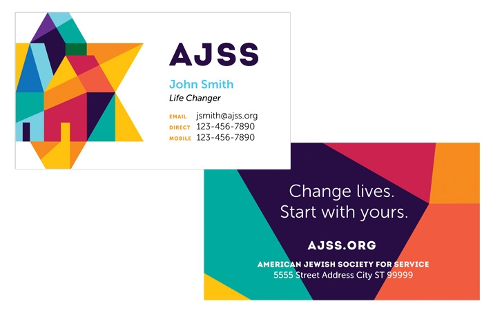 AJSS business card