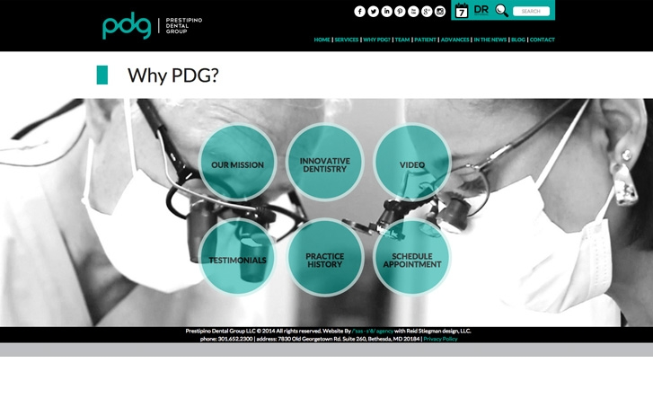 PDG screenshot - Why PDG?
