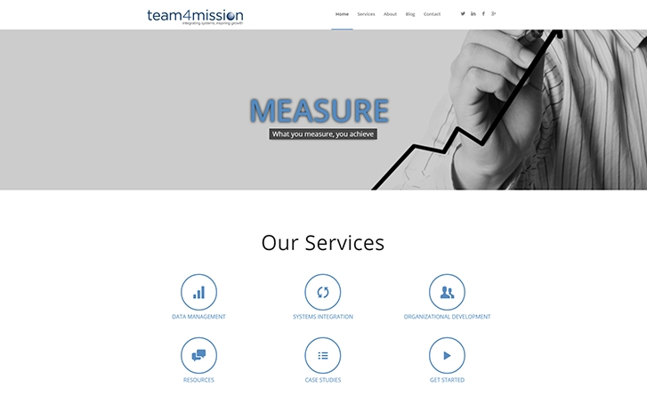 Team4Mission screenshot - Our Services