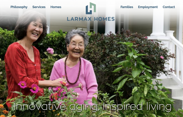 two smiling women - Larmax Homes - Innovative aging. Inspired living.