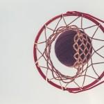 basketball and basket