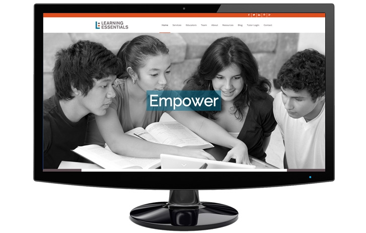Empower: Youth collaborating on project together