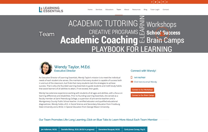 Learning Essentials screenshot