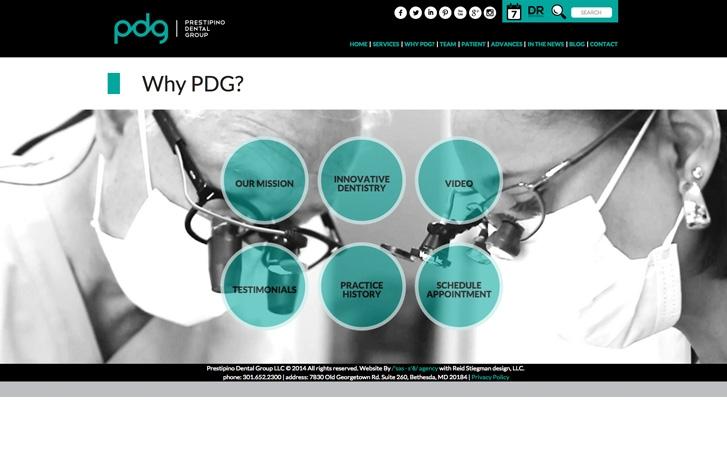 PDG screenshot - Why PDG?