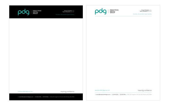PDG letterhead