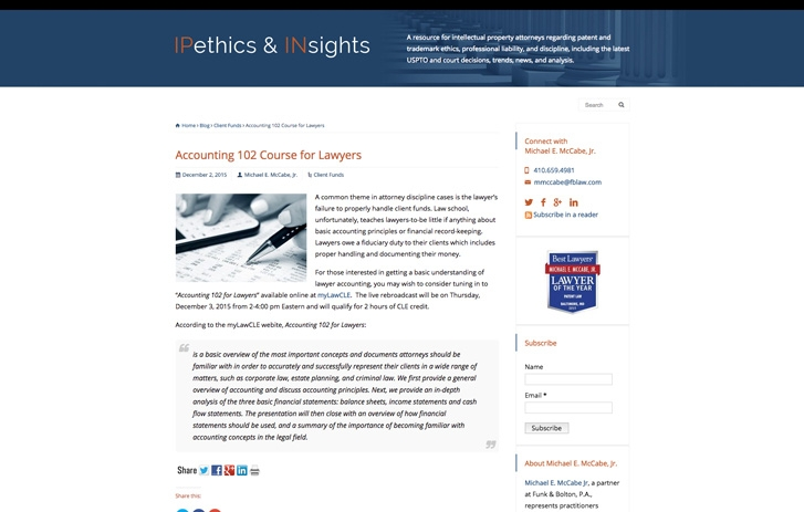 IPethics & INsights