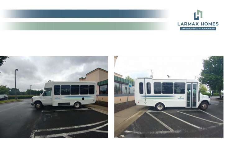 Larmax Homes bus